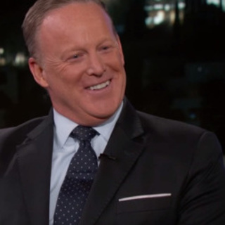 Square sean spicer jimmy kimmel