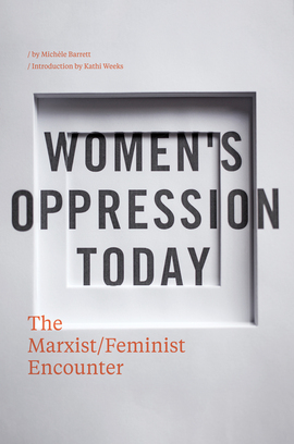 Cover barrett   women s oppression today   300dpi rgb
