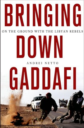 Cover brigning down gaddafi
