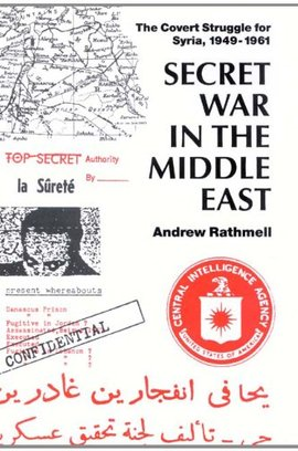 Cover secret war in the middle east