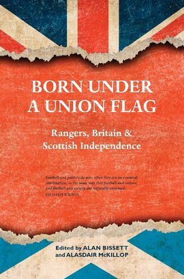 Cover born under a union flag