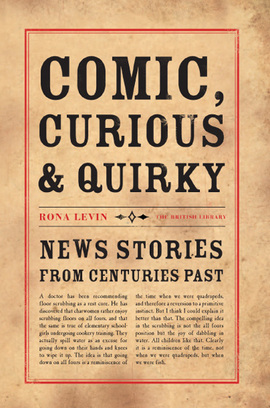 Cover comic curious and quirky