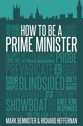Cover how to be a prime minister