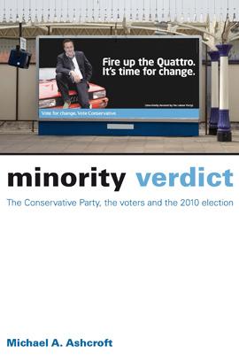 Cover minority verdict portrait